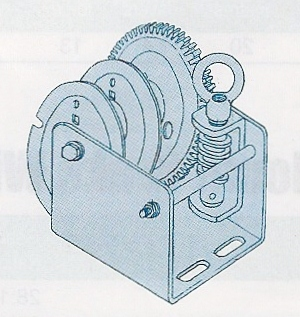 Worm Gear Winches