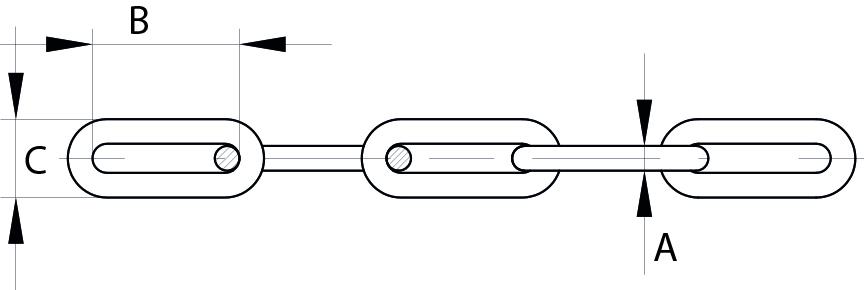 Long Link Chain Electrically Welded Mild Steel Galvanised
