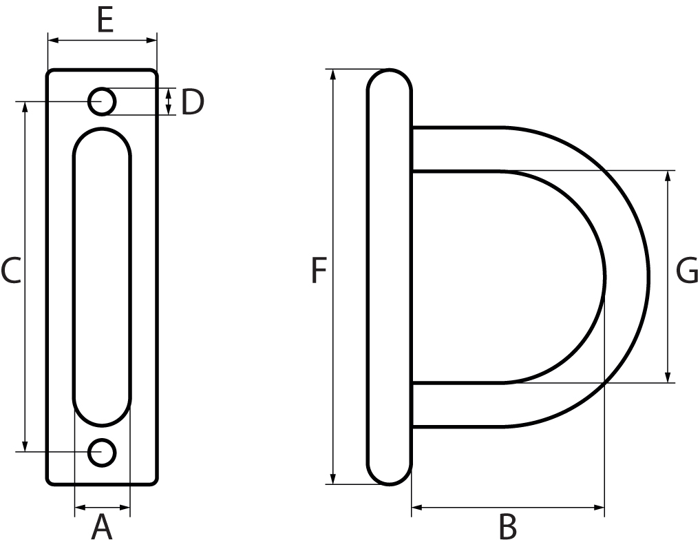 Pad Eye Plates