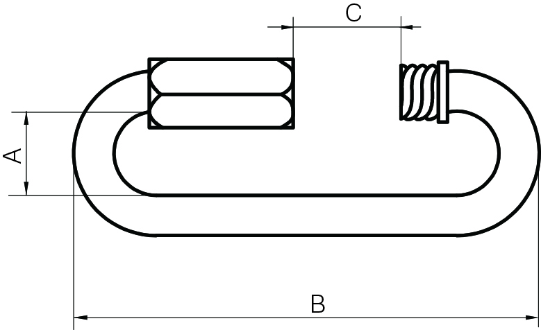 Long Series Quick Links Zinc Plated (Standard & Long Series)