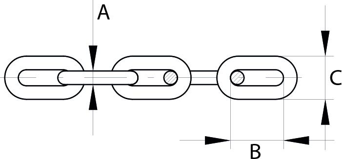 Short Link ChainElectrically Welded Mild Steel Galvanised